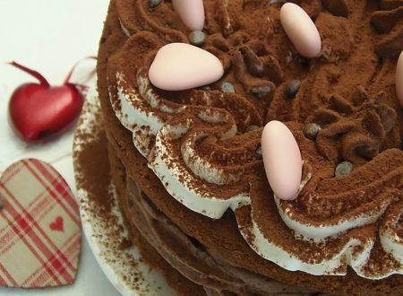 Torta tripudio di cioccolato
