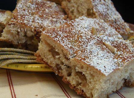 Focaccia dolce senza uova | Pane e Cioccolato