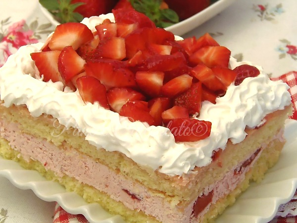 Torta Fragolino