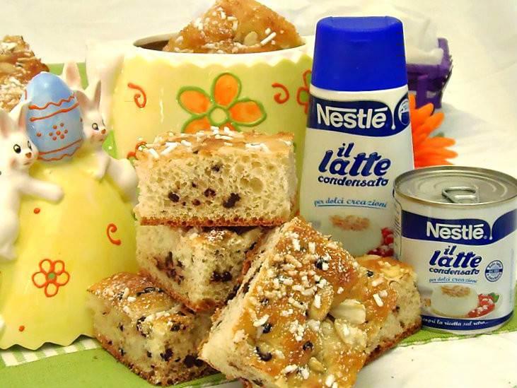 Estremamente Focaccia Dolce di Pasqua al Latte Condensato | Pane e Cioccolato HQ41