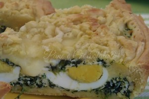 Torta Pasqualina con pasta brisee' speciale e friabile