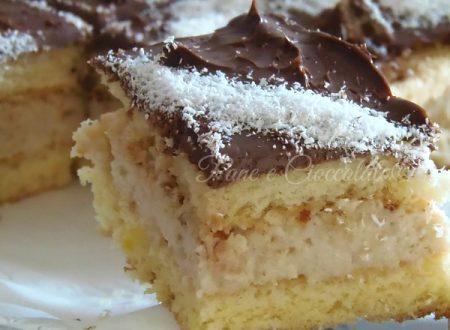 Delizie al  Cocco e Cioccolato | Ricetta Pasticceria