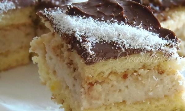 Delizie al  Cocco e Cioccolato   Ricetta Pasticceria