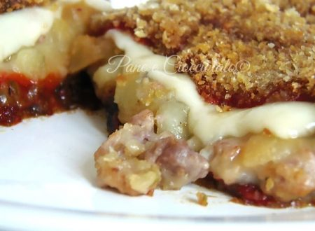 Peperoni Ripieni di patate salsiccia e fontina