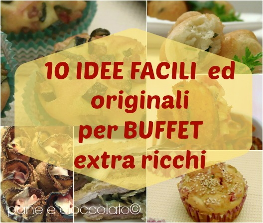 idee facili per buffet