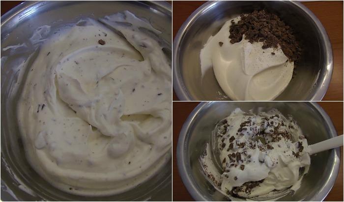 Ingredienti 500g di panna 375g di latte condensato due cucchiai di bourbon oppure liquore vecchia romagna un cucchiaino di estratto di vaniglia Preparazione Tenere nel frigo sia la panna che il latte condensato in modo tale da utilizzarli freddi. Montare la panna abbastanza dura, ma non troppo altrimenti diventa burro. In una ciotola versate il latte condensato, il liquore e l'estratto di vaniglia. Il liquore vi aiutera' a non far congelare il gelato ma a mantenerlo bello soffice, in modo tale da poterlo prendere a cucchiaiate anche dopo ore di freezer. Mescolate. Aggiungete al latte condensato un cucchiaio di panna mescolando rapidamente fino ad amalgamare tutto. Unite il resto della panna mescolando piano, con movimento dall'alto verso il basso tanto da incorporare aria. Non prolungate troppo questa operazione altrimenti rischiate di smontare il composto. Potete lasciare cosi' il gelato oppure utilizzare diversi topping per variegarlo equindi metterlo nel congelatore. Non occorre girarlo dopo un'ora, ma e' sufficiente lasciarlo cosi', si manterra' molto soffice. Potete utilizzarlo per realizzare torte gelato, oppure fantastici dessert, a voi la scelta!