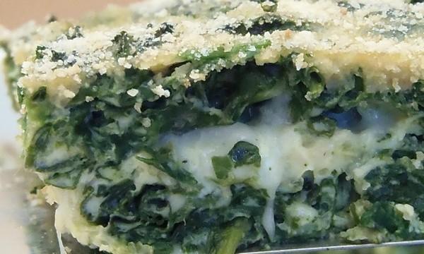Frittata al Forno di spinaci e mozzarella