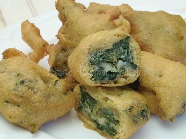 Crocchette di spinaci e mozzarella