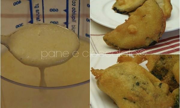 Pastella senza glutine per un fritto croccante e dorato