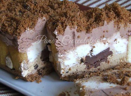Ricetta Semifreddo gelato ai tre gusti