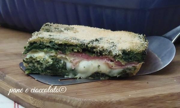 Frittata al forno Prosciutto e Mozzarella-ricette con gli spinaci