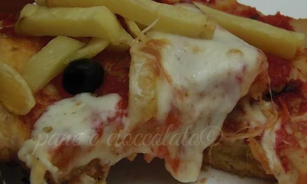 Ricetta della Pizza-pizza e patatine