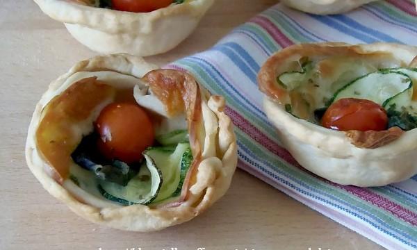 Ricette per buffet-Cestini alle verdure-giallozafferano