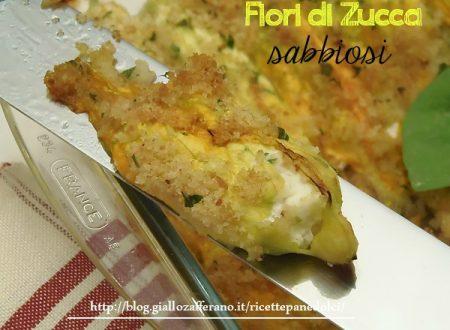 Ricetta Fiori di zucca sabbiosi-Giallozafferano.it