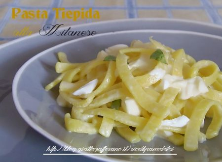 Ricetta pasta tiepida alla milanese-giallozafferano