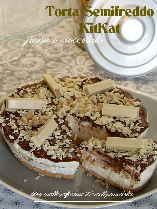 Ricetta Torta Semifreddo KitKat