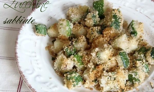 Ricetta Zucchine Sabbiose al FORNO