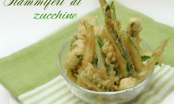 Ricetta Fiammiferi di Zucchine in pastella leggera
