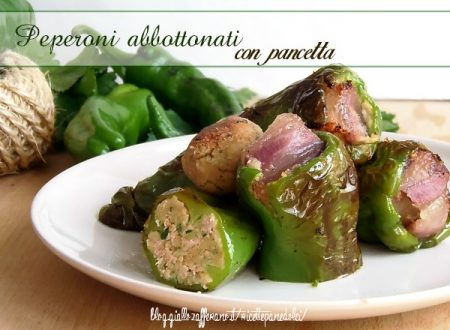 Ricetta Peperoni Abbottonati con pancetta-giallozafferano