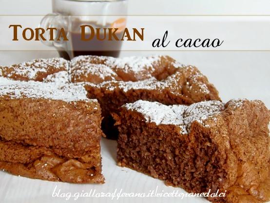 Torta Cacao Dukan.Ricetta Torta Dukan Al Cacao Poche Calorie Giallozaferano