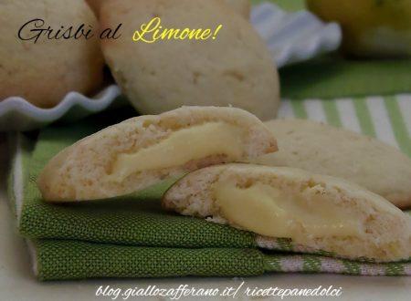 Grisbi' al limone-Biscotti al Limone Cremosi