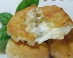 Bomboloni rustici patate e mozzarella sia fritti che al forno