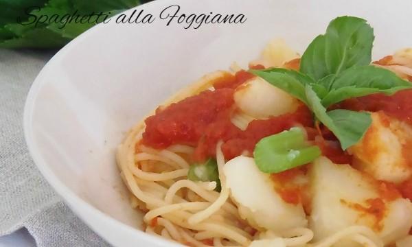Spaghetti alla Foggiana con tabella delle calorie