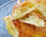 Fazzoletti di Sfoglia alla Crema Pasticcera in 5 minuti