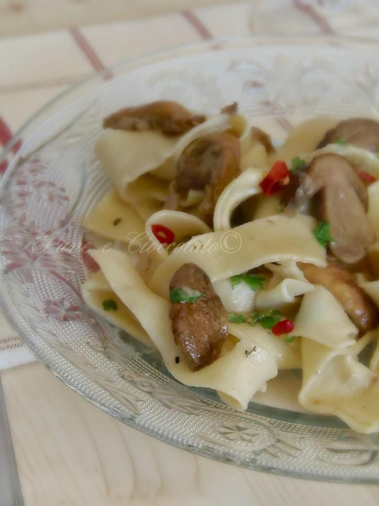 Tagliatelle ai funghi porcini ricetta pasta fresca - Impastatrice per pasta fatta in casa ...