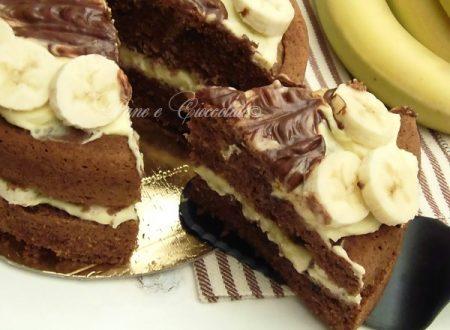 Torta di Mascarpone e Banane soffice e senza burro