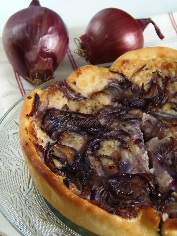 torta di patate e cipolle