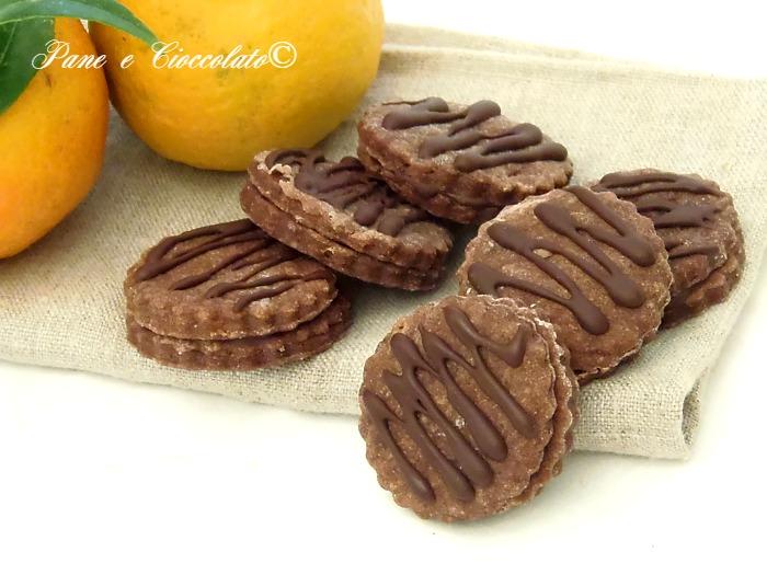 Biscotti al Cioccolato ed Arancia