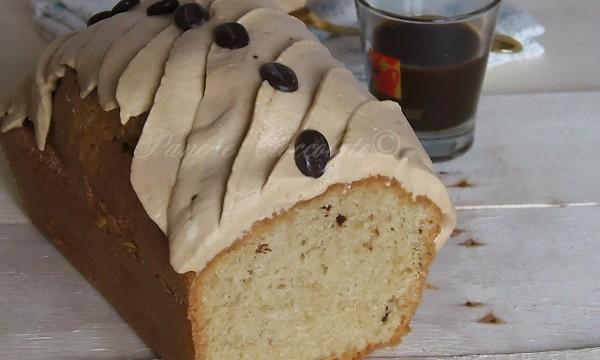 Plumcake panna e caffe' senza burro sofficissimo