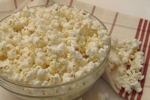 Pop Corn Light cottura in acqua con il microonde