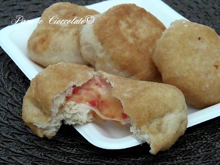 Bomboloni Salati gusto Pizza con e senza lievitazione