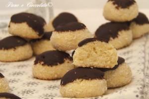Biscotti al Cocco e Cioccolato facili