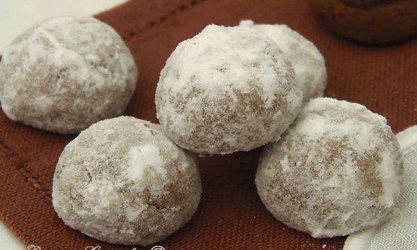 Biscotti Bottoni di Neve facilissimi