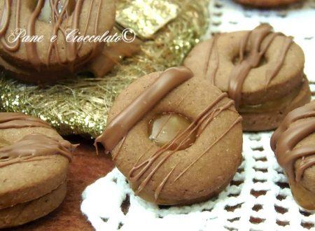 Biscotti Occhio di Bue al Caramello ricetta