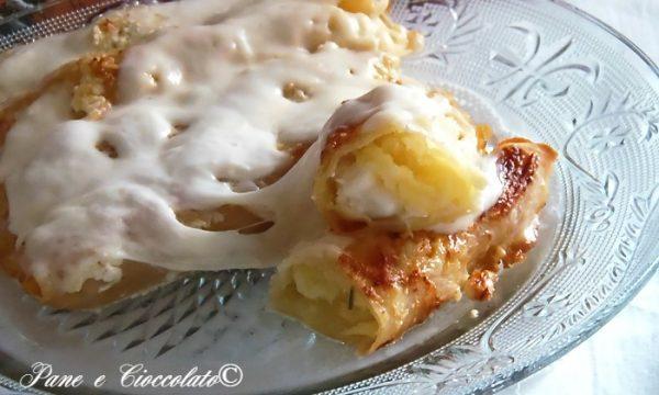 Cannelloni Patate Baccala e Mozzarella