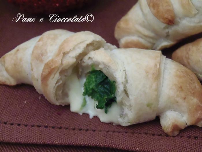 Cornetti salati da Antipasto broccoli e mozzarella Ricetta veloce