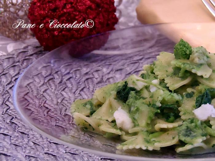 Farfalle pesce spada e broccoli