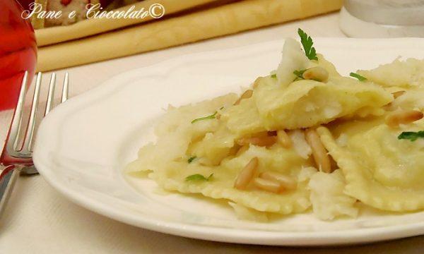 Ravioli patate e baccala