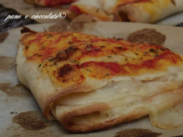 Doppi Ventagli di Piadina gusto Pizza