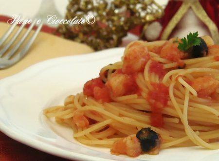 Spaghetti al ragu di baccala ricette per il cenone