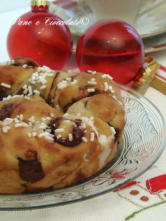 Torta Nutella per Babbo Natale
