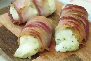 Bombe di Patate e Pancetta Bacon Wrapped Bombs