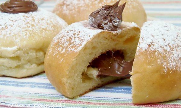 Bomboloni alla nutella al forno Daring Doughnuts