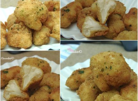 Cavolfiori al Parmigiano Parmesan Cauliflower Bites