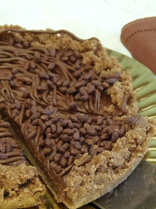 Cheesecake alla Nutella senza forno