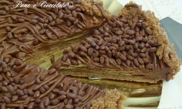 Cheesecake alla Nutella senza forno no-bake Nutella Cheesecake